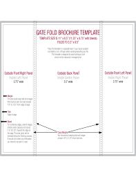 gate fold brochure template gate fold brochure template free