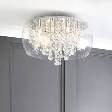 Glass Bathroom Light Shades Bestoom Ceiling Light Shades Home Design Creative In