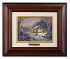 kinkade framed prints ebay