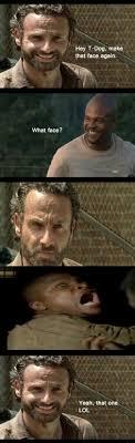 T Dogg Walking Dead Meme - the walking dead funny memes the walking dead funny memes