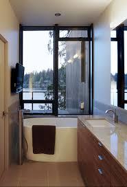 narrow bathroom designs efficient bathroom space saving with narrow bathtubs for small