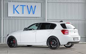 bmw 1 series 2014 2014 ktw tuning bmw 1 series in black and white white 2