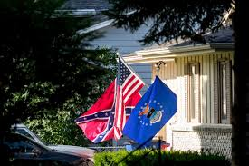 What Does A Flag Mean Hansen A Confederate Flag Flies In La Vista And 2017 Continues