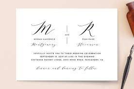monogram wedding invitations monogram wedding invitations by simona cavallaro minted