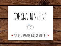 congratulations wedding card wedding card printable congratulations card engagement card