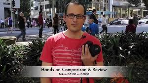nikon d5100 vs d5000 hands on review u0026 comparison youtube