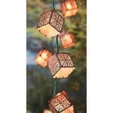 target outdoor string lights threshold burnished metal square string lights target mobile