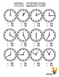 time learning clock bold clocks learning for because preschoolers to tell