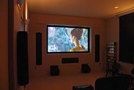 interior home theater room design ideas rectangle shape big