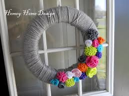 spring wreaths for front door homey home design mini spring wreath