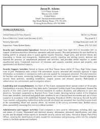 Example Federal Resume by Sample Resume For Government Position Resume For Your Job