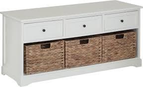 Hallway Bench Storage by All Home Wood Storage Hallway Bench U0026 Reviews Wayfair Co Uk
