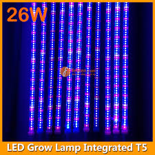 t5 vs led grow lights product abstract 4feet led plant growing light 26w l power