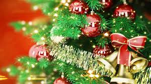 new year toys 1920x1080 wallpaper new year christmas tree toys bells ribbon