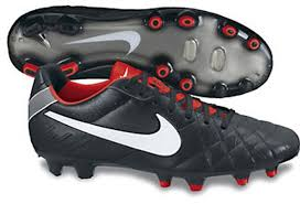 Nike Tiempo Legend Iv nike soccer cleats 454316 016 nike tiempo legend in black and