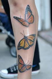 yellow butterfly tattoos i yellow