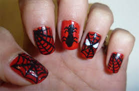 15 spiderman nail art designs ideas trends stickers u0026 wraps