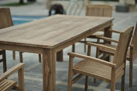 reclaimed wood outdoor table reclaimed teak garden table for shabby chic gardenteak furnitures