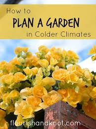 planning a garden in colder climates aka gardening in the great