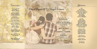 wedding invitations philippines wedding invitations sles philippines matik for