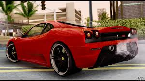 chrome ferrari f430 ferrari f430 scuderia for gta san andreas