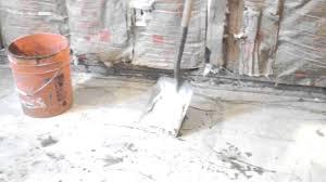 mudjacking basement floor slab denver colorado youtube