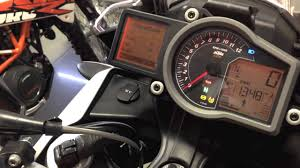 sp ktm v twin service time and reprogramming tip youtube