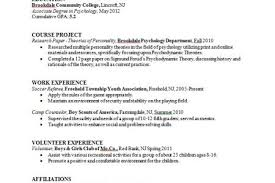 Sample College Graduate Resume by Sample Resume For High Graduate With No Paid Job Experience