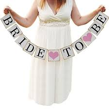 Bridal Shower Images by Amazon Com Bride To Be Wedding Banner Bride Garland Wedding Sign