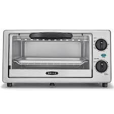 Toastmaster Toaster Shop Bella 4 Slice Stainless Steel Toaster Oven With Auto Shut Off