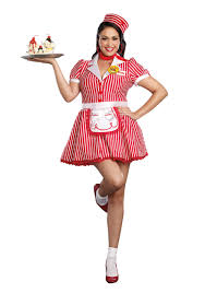 Soda Halloween Costumes Size Diner Doll Costume