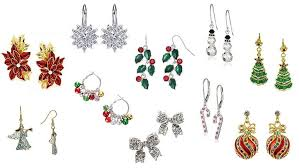 christmas earrings top 10 best christmas earrings 2017 heavy