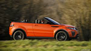 land rover evoque 2017 2017 range rover evoque convertible hse color phoenix orange