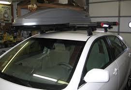 Car Top Carrier Cross Bars Toyota Camry 4dr Rack Installation Photos