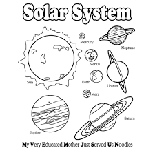 the planets in solar system coloring pages astronomy t shirts t
