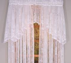Lace Curtains And Valances Harmony Lace Curtain Panel Curtain U0026 Bath Outlet