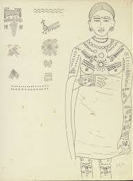 kamat u0027s potpourri living arts of india tribal tattoo designs