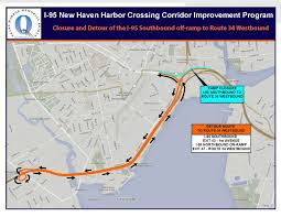 Route 95 Map by Final Closures Detours This Weekend For New Haven Bridge Work On