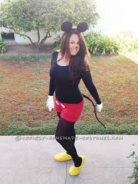 Minnie Mouse Womens Halloween Costume 25 Homemade Minnie Mouse Costume Ideas