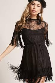 fringe dress forever21