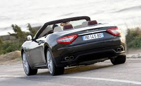 maserati granturismo convertible black maserati gt belmont luxury car rental in miami
