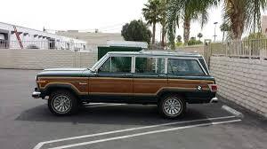 hemmings find of the day u2013 1983 jeep wagoneer hemmings daily