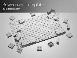 lego block powerpoint template slidesbase