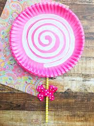 mother u0027s day craft idea pink lollipop handmade gift