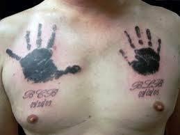8 best handprint tattoo images on pinterest the o u0027jays beauty