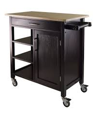 wood kitchen island cart amazon com winsome mali kitchen cart bar serving carts