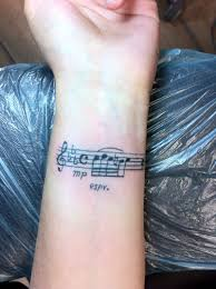 music wrist tattoos designs ideas and meaning tattoos for you