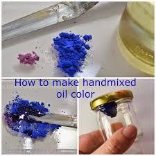 design du monde making oil paints at home