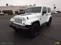 jeep arctic 2012 bright white jeep wrangler sahara arctic edition 4x4
