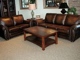 Brown Leather Sofa And Loveseat Leather Sofas